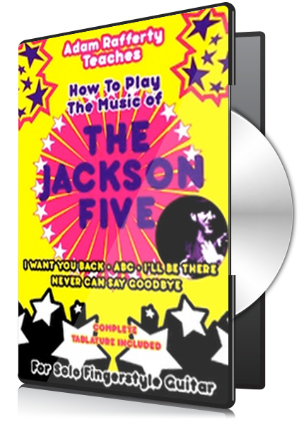 How to Play the Music of THE JACKSON FIVE For Solo Fingerstyle Guitar