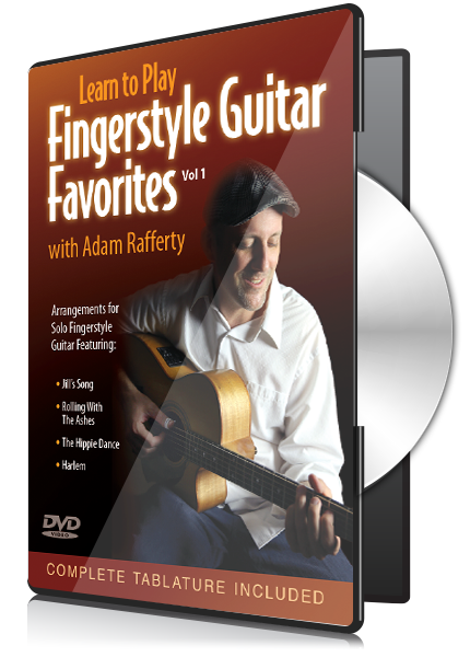 Learn to Play Fingerstyle Guitar Favorites – Vol I