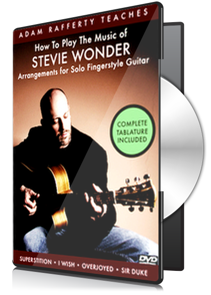 How To Play Stevie Wonder for Fingerstyle Guitar Vol 1