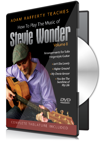 How To Play Stevie Wonder for Fingerstyle Guitar Vol 2